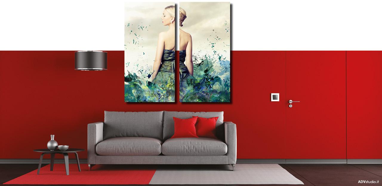 Stampa foto tela canvas dipinti quadri artistici personalizzati tessuti grandi dimensioni - Ikea quadri su tela ...