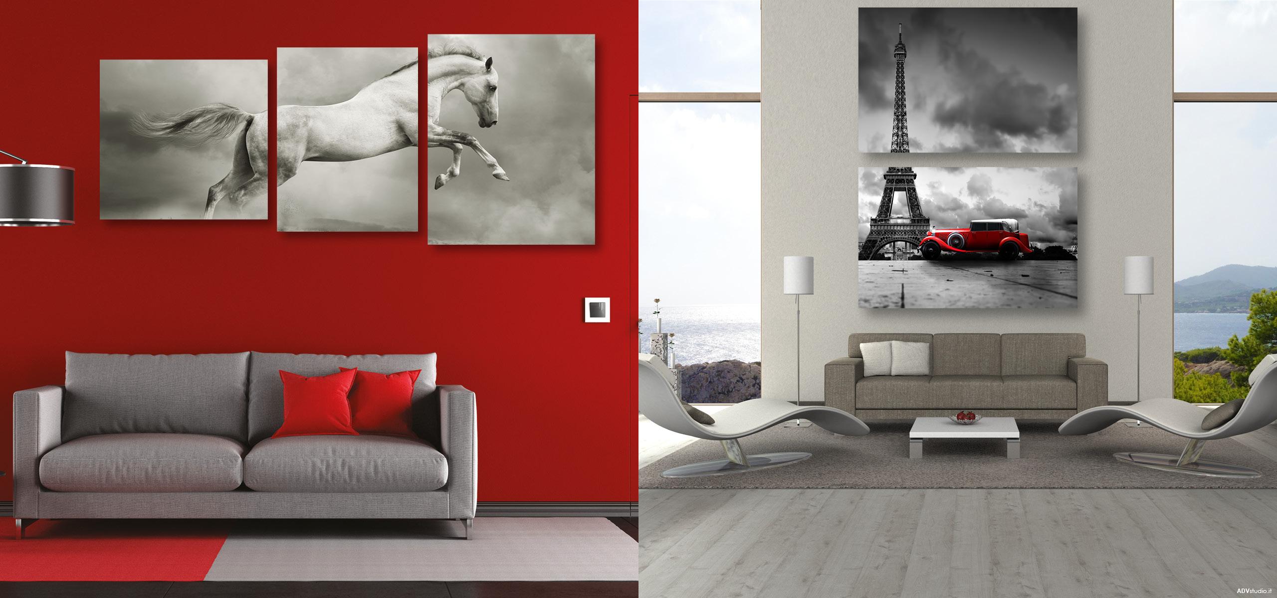 Stampa foto tela canvas dipinti quadri artistici personalizzati ...